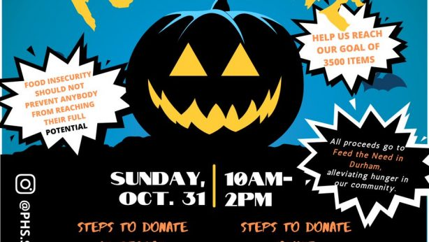PICKERING HIGH SCHOOL HUNGRY FOR HALLOWEEN FOOD DRIVE